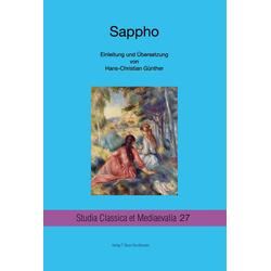 Sappho als Buch von Hans-Christian Günther/ Sappho