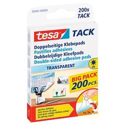 200 tesa TACK doppelseitige Klebepads für max. 20,0 g 1,0 x 1,0 cm