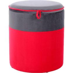 Kayoom Hocker Kassandra 125, (1 Stück) rot