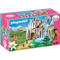 PLAYMOBIL 70254 Am Kristallsee mit Heidi, Peter und Clara Spielset, Mehrfarbig