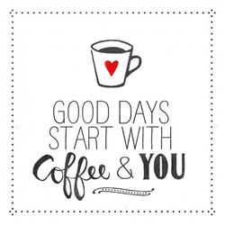 Servietten COFFEE AND YOU(LB 33x33 cm) Design@Home