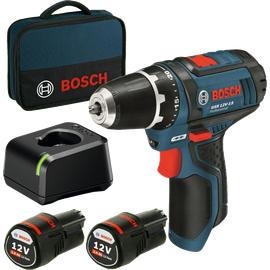 Bosch GSR 12V-15 Professional inkl. 2 x 2 Ah 060186810F