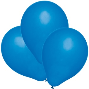 Susy Card 40011424 - Luftballons, 100er Packung, blau