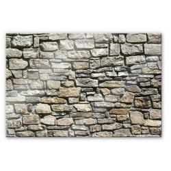 Wall-Art Küchenrückwand 3D Stein Optik Natursteinmauer, (1-tlg) 100 cm x 70 cm x 0,4 cm