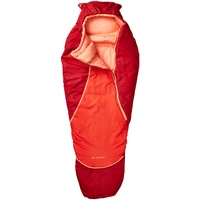 Vaude Alpli Adjust 400 Syn Schlafsack Kinder dark indian red Left Zipper 2020 Schlafsäcke