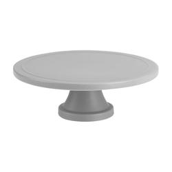 Birkmann Tortenplatte Trend Grau Matt 24 cm, Keramik