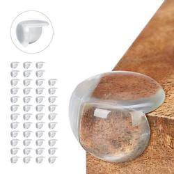 48 x Eckenschutz Baby, Tischeckenschutz transparent, Möbel Schutz Kantenschutz