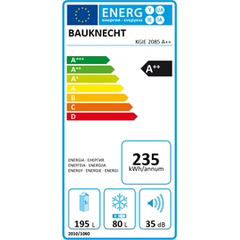 Bauknecht KGIE 2085 A++