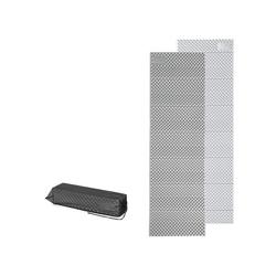 Naturehike Isomatte Ultraleichte Camping Isomatte, Einzelne Schlafmatte, Ultraleicht, Wasserdicht, klappbar, 185x56x1,8 cm, Grau grau