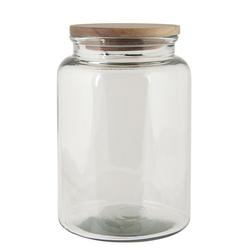 Ib Laursen Vorratsdose Laursen - Glas- Kaffee- Vorrats- Dose mit Deckel 3 Liter 0651-00 Bonboniere Vase