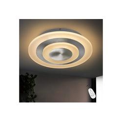 ZMH LED Deckenleuchte 20W Ø30cm rund Bürodeckenleuchten Dimmbar