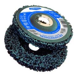 Osborn Reinigungsscheibe mit Glasfaserrücken D115 Bohrung 22,23 für Winkelschleifer