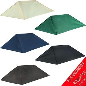 freigarten.de Ersatzdach für Pavillon 3x4 Meter Sand Antik Pavillon Wasserdicht Material: Panama PCV Soft 370g/m2 extra stark Modell 9 (Grün)