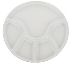 Fondueteller Anneli Keramik weiß 2,0cm 21,5cmØ