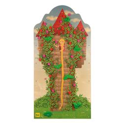 Erzi® Kletterwand, Rapunzel, Holz