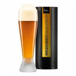 Eisch Bierglas Weizenbierglas Hamilton 650 ml, Kristallglas beige