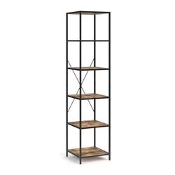 Vicco Standregal Loft Fyrk Bücherregal Wandregal Holz Regal 174x40x40 cm