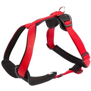 HUNTER Hundegeschirr Neopren rot, Breite: ca. 25 mm, Bauchumfang: ca. 81 - 100 cm