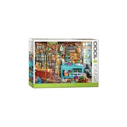 empireposter Puzzle Wundervolle Gartenlaube Gartentraum - 1000 Teile Puzzle im Format 68x48 cm, 1000 Puzzleteile