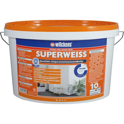 Wilckens Dispersionsfarbe Innen 10 l, superweiß