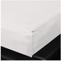 BETTWARENSHOP Nicole Mako-Fein-Jersey 90 x 190 - 100 x 200 cm silber