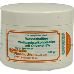 WOLLWACHSALKOHOLSALBE wasserh.m.Olivenöl 5%