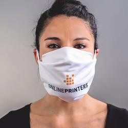 25 Gesichtsmasken/Stoffmasken/Atemmaske Premium bedrucken