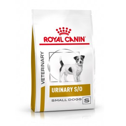 Royal Canin Veterinary Urinary S/O Small Dog Hundefutter 2x 1,5kg
