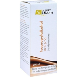 ISOPROPYLALKOHOL 70% V/V Henry Lamotte 200 ml