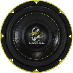 Ground Zero Subwoofer (Ground Zero GZHW 16SPL - 16cm SPL Subwoofer)