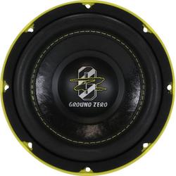 Ground Zero Subwoofer (Ground Zero GZHW 16SPL - 16,5cm SPL Subwoofer)