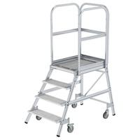 Günzburger Aluminium-Podestleiter 4 Stufen (51104)