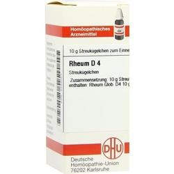 RHEUM D 4 Globuli 10 g