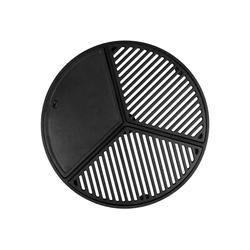 BBQ-Toro Grillplatte BBQ-Toro Gusseisen Plancha Set für 57 cm Kugelgrill, Grillrost und Grillplatte