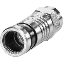 F-Kompressionsstecker Kabel-Durchmesser: 6.8mm
