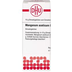 MANGANUM ACETICUM C 30 Globuli 10 g