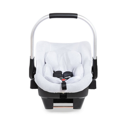 Hauck Babyschale Sommerbezug für iPro Baby, white