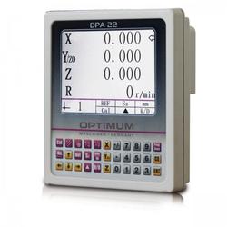 Optimum DPA 22 mit LCD-Anzeige - Digitale Positionsanzeige für Optimum Drehmaschinen TH und TU