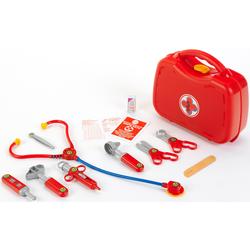Klein Spielzeug-Arztkoffer, Made in Germany rot Kinder Ab 3-5 Jahren Altersempfehlung Spielzeug-Arztkoffer