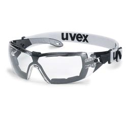 Sicherheitsbrille Bügelbrille pheos s guard schwarz/grau