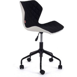 MY SIT Bürostuhl Design-Hocker Drehstuhl Stuhl INO Schwarz/Weiss