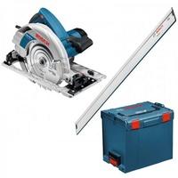 Bosch GKS 85 G Professional inkl. Führungsschiene FSN 1600 + L-Boxx 060157A902