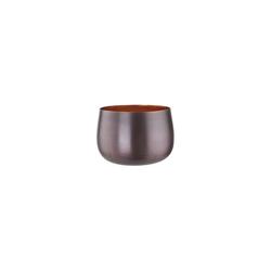 BUTLERS Teelichthalter DUSK Teelichthalter Höhe 6,5cm gelb