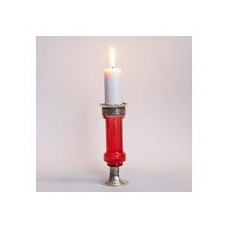 Casa Moro Kerzenständer Orientalischer Kerzenständer marokkanische Kerzenleuchter Manar, Kerzenhalter für romantische Beleuchtung Kerzenlicht & Dekoration, , L1677 rot