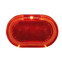 Herrmanns Fahrradbeleuchtung Gepäckträgerrücklicht Herrmans H-Track 80mm