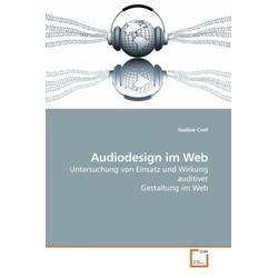 Audiodesign im Web als Buch von Nadine Crell