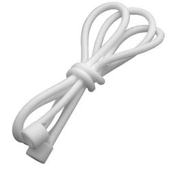 vhbw Kopfhörer Halteband passend für Apple AirPods Anti-lost Strap für kabellose Kopfhörer - Silikon, 55cm, weiß