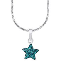 Amor Kette mit Anhänger Stern, 9294541, mit Kristallglassteinen