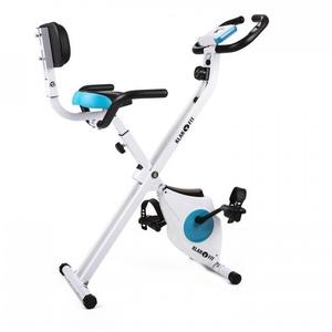 Azura Pro Fahrrad-Heimtrainer Rückenlehne Seitenhalterung klappbar 100kg