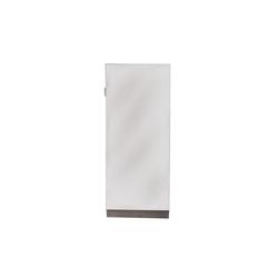 HTI-Line Schuhschrank Spiegelschuhschrank Thekla M (1-St) Schuhschrank grau
